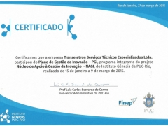 certificado inovacao